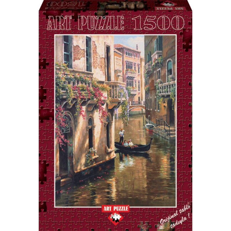 Puzzle 1500 piese Afternoon Chat - SUNG KIM imagine