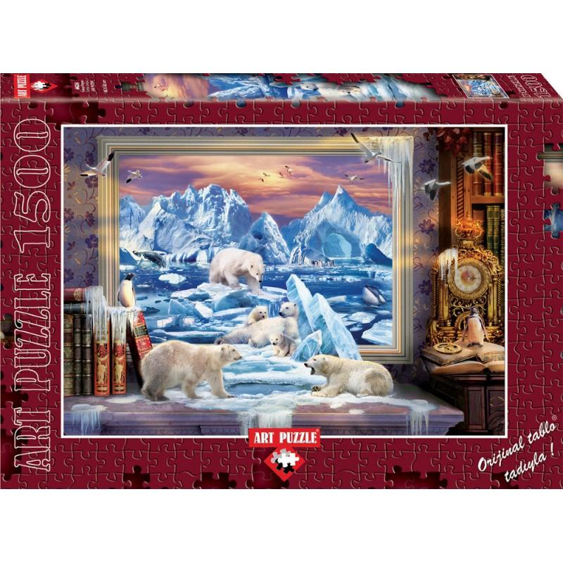 Puzzle 1500 piese - Arctic Dream - JAN PATRIK