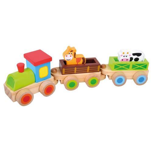 Trenulet cu 2 Vagoane, Calut si Vacuta