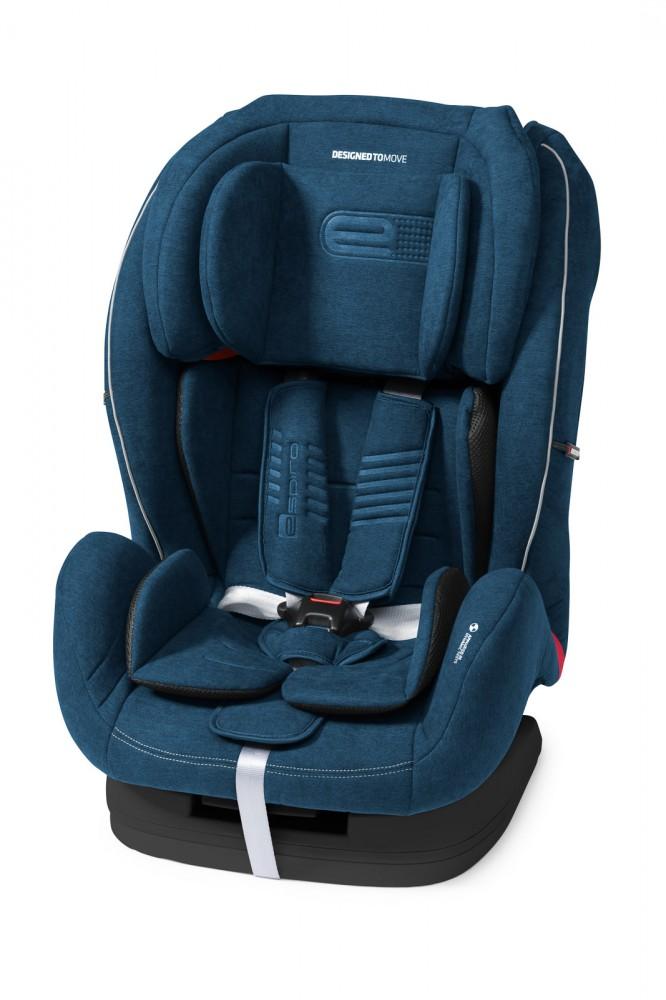 Espiro Kappa scaun auto 9-36 kg - 03 Denim 2019 imagine