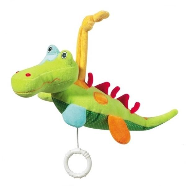 Jucarie Muzicala Crocodil - Brevi Soft Toys