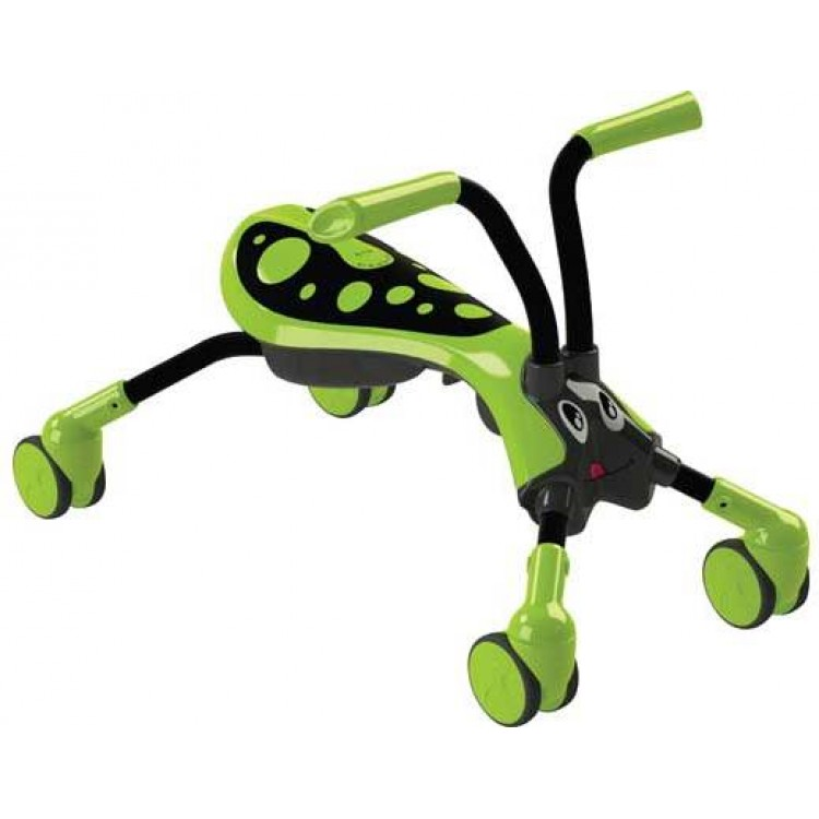 Tricicleta Pliabila Scramble Bug Hornet Green Black