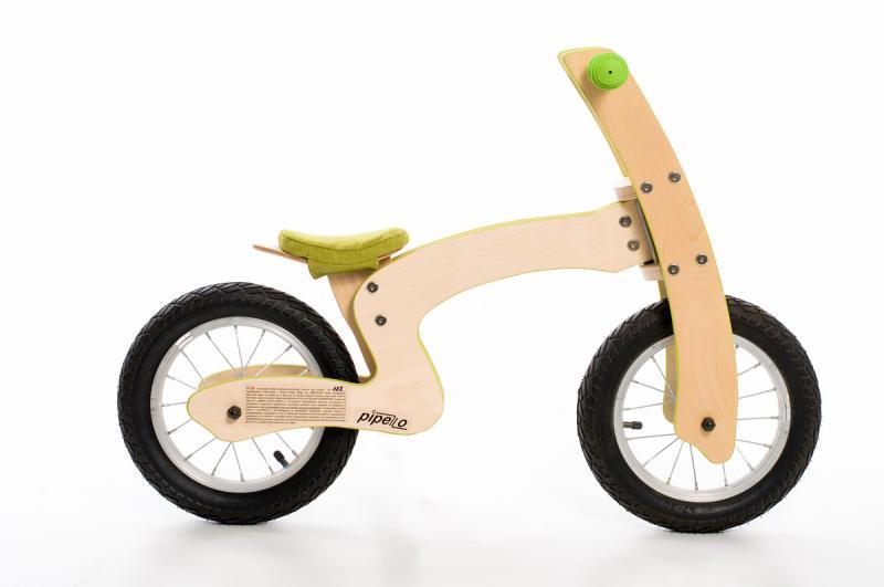 Bicicleta de balans MyKids Pipello Z Verde
