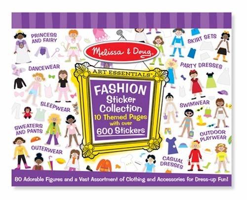 Colectia de abtibilduri Parada de moda Melissa and Doug image0