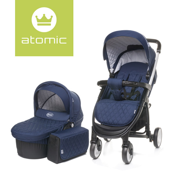 4Baby ATOMIC 2 in 1 Navy Blue imagine