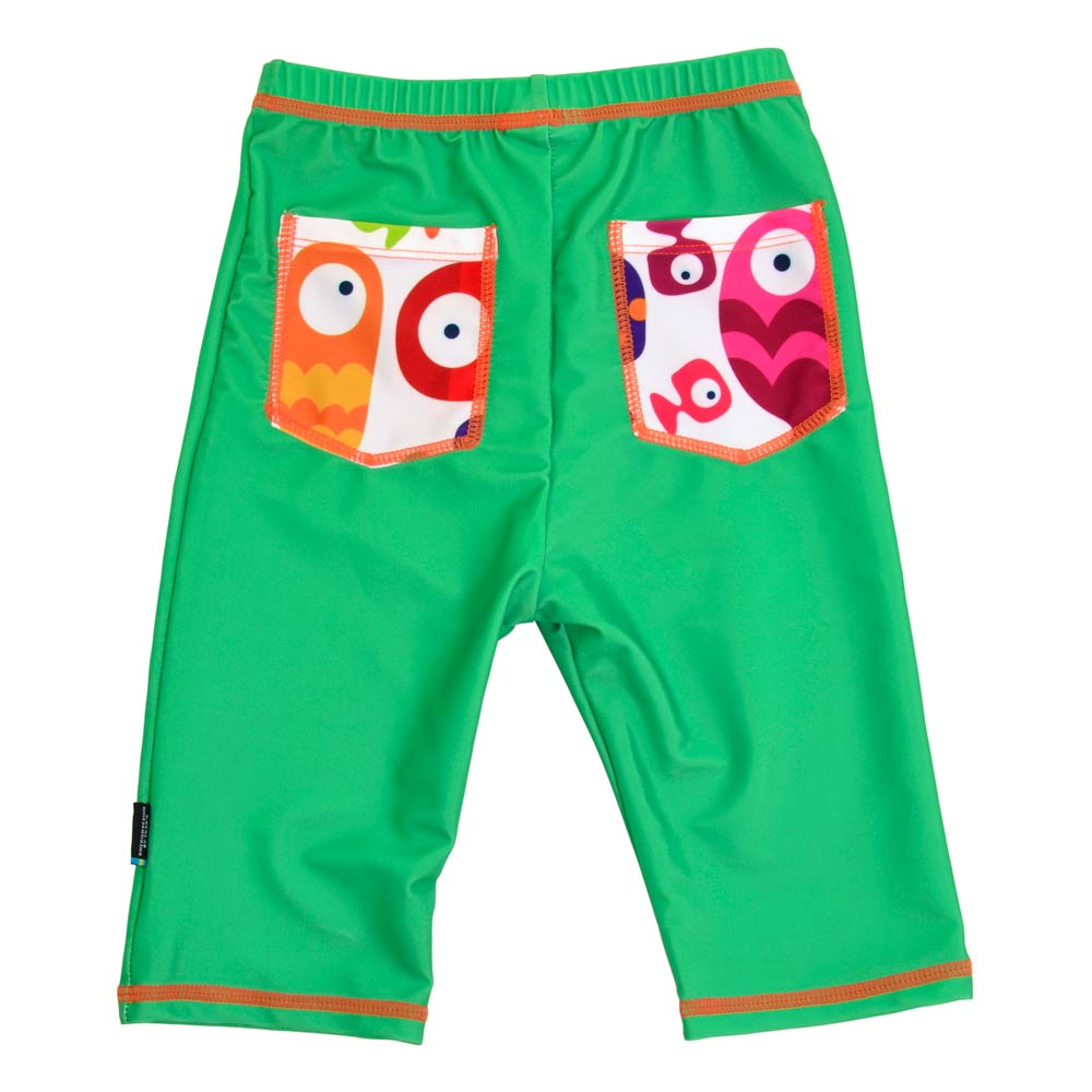 Pantaloni de baie Funny Fish marime 122- 128 protectie UV Swimpy