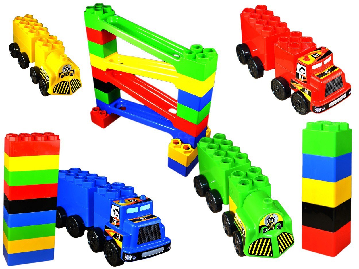 Set de constructie gigant Car Race