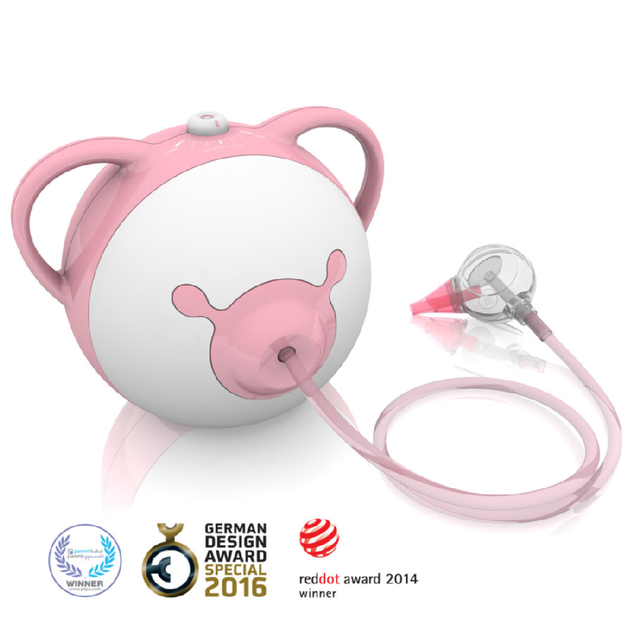 Aspirator nazal electric Nosiboo Pro roz