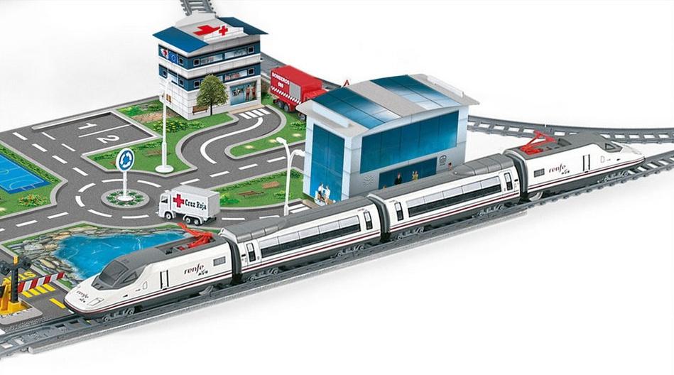 Trenulet electric de jucarie pentru copii Renfe AVE PEQUETREN 720