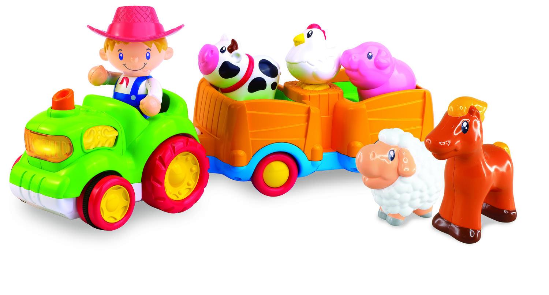 Jucarie muzicala - Tractorul de la ferma