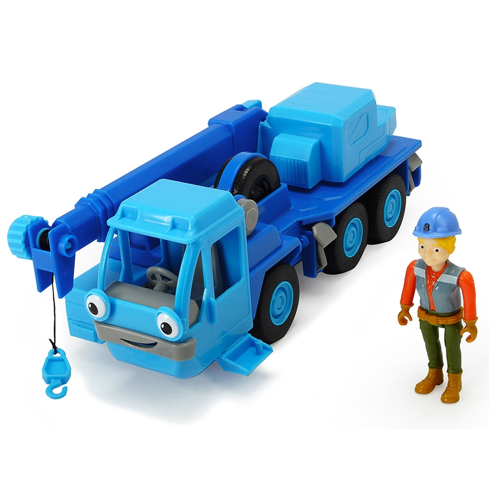 Camion Dickie Toys Bob Constructorul Action Team Lofty cu 1 figurina Wendy