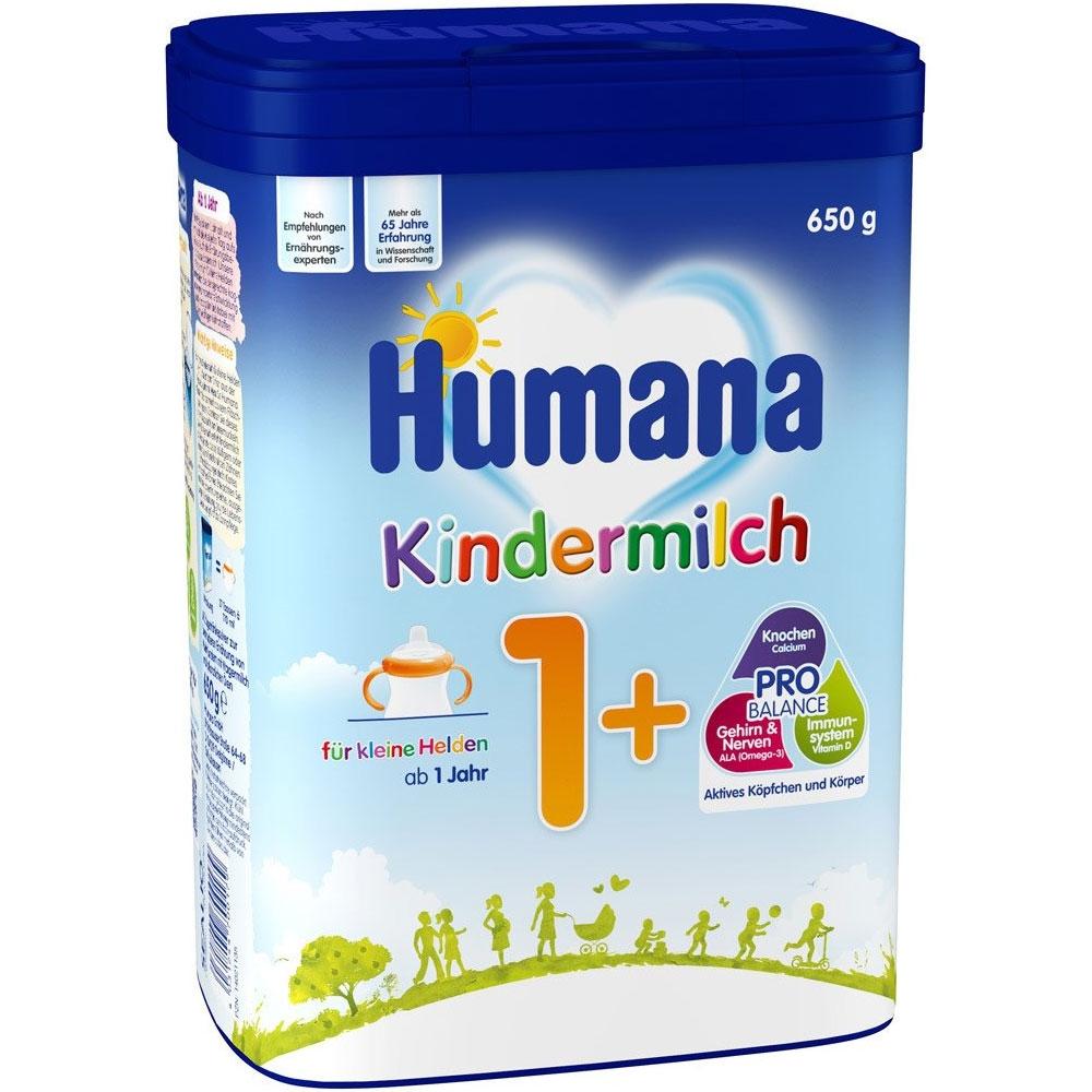 Lapte praf Humana Kindermilch 1+ de la 1 an 650 g imagine