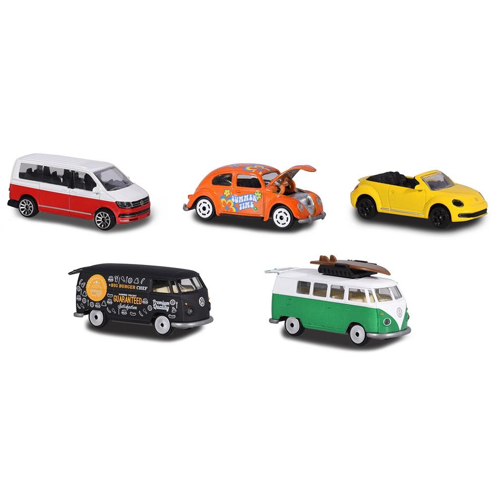 Set Majorette 5 masinute Volkswagen