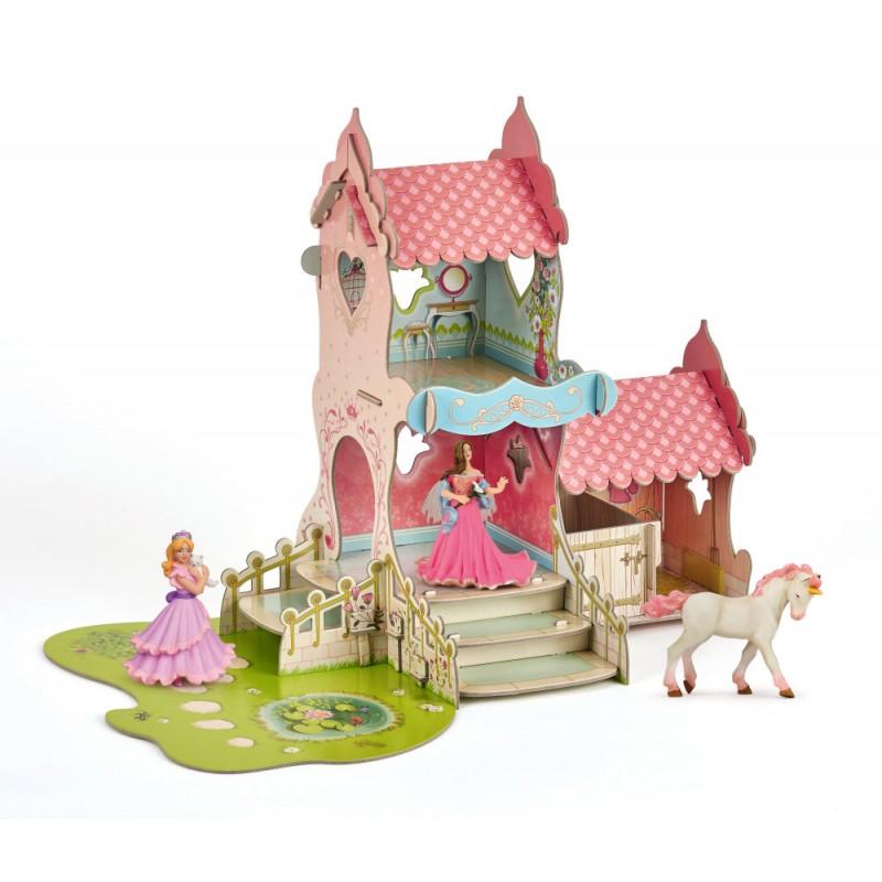 Figurina Papo - Set castel printese+3 figurine