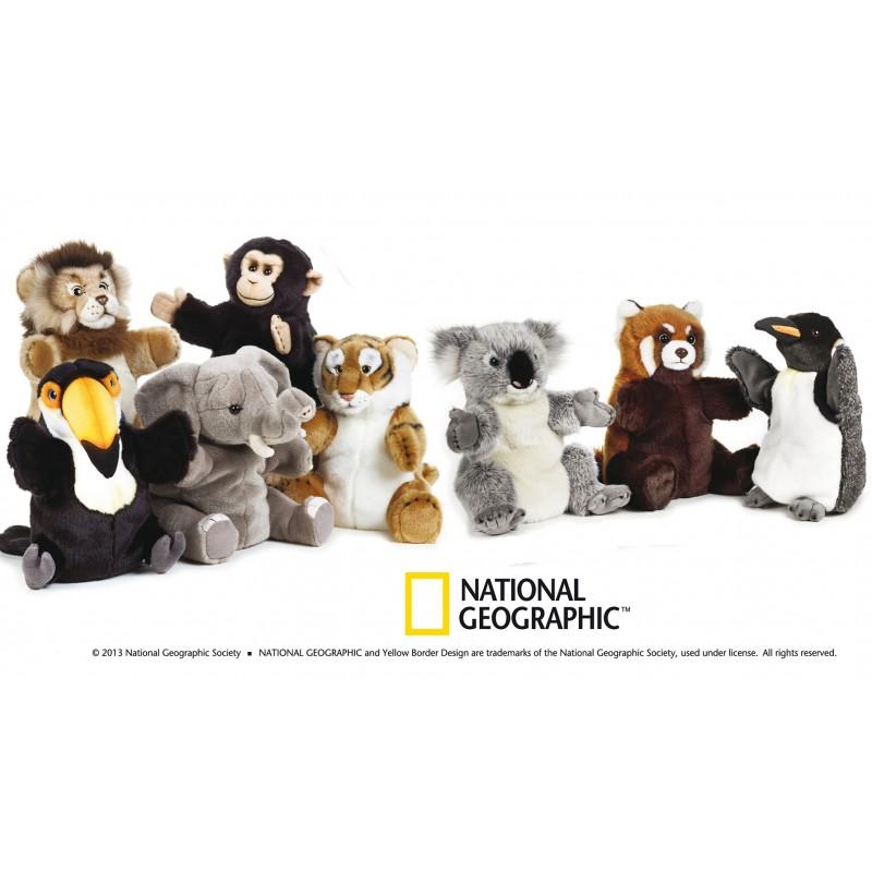 Jucarie din plus National Geographic Marioneta 26-28 cm imagine