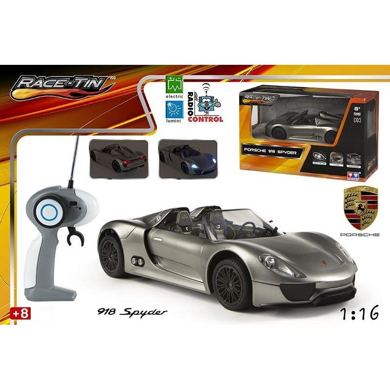 Jucarie masina Porche 918 Spyder Concept cu radiocomanda