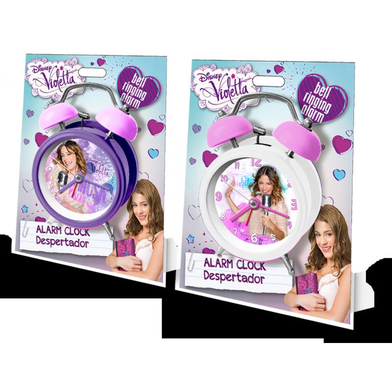 Ceas de masa desteptator Violetta (12 cm) imagine
