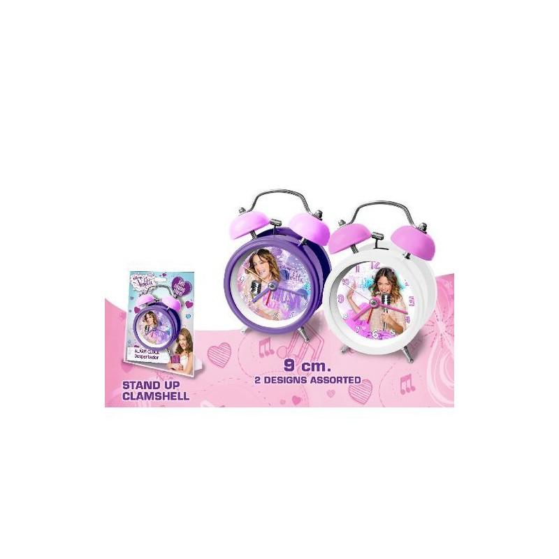 Ceas de masa desteptator Violetta (9 cm) imagine