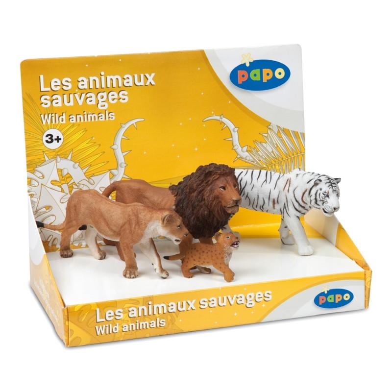 Set figurine Papo - Set Feline 1