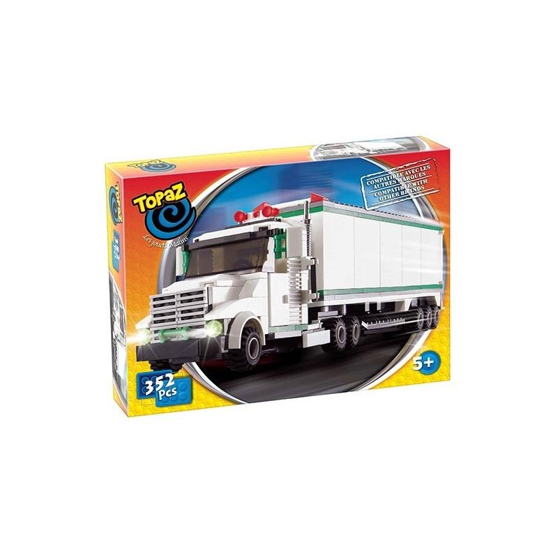 Set de construit-Camion pentru marfa-352 piese