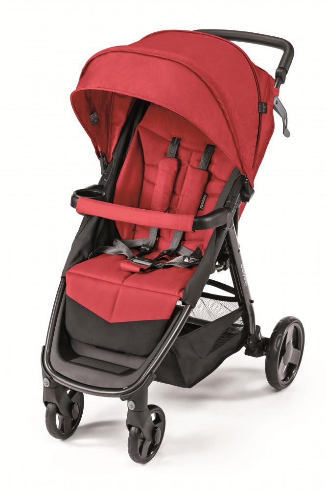 Baby Design Clever carucior sport - 02 Red 2019 imagine