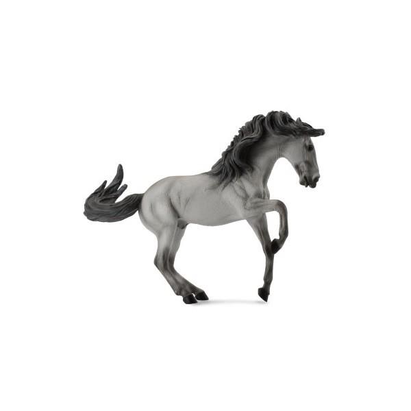 Figurina Armasar Cenusiu Lusitano XL Collecta