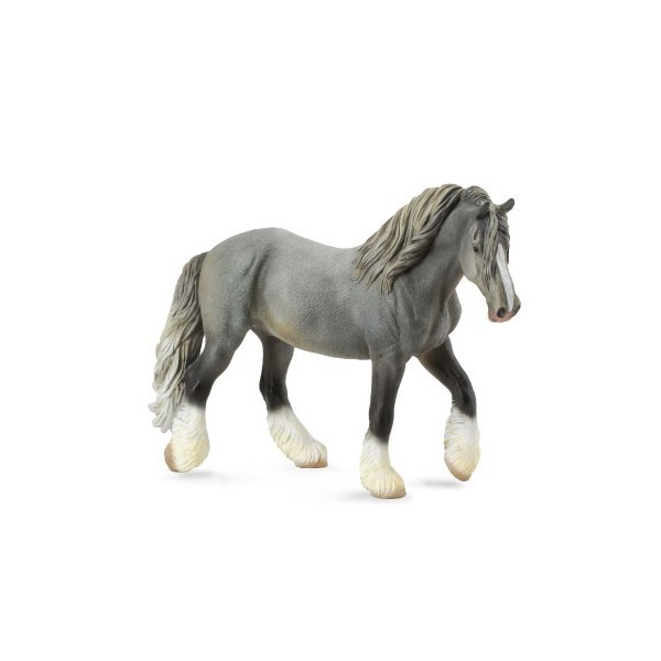 Figurina Cal Mare Gri Shire XL Collecta