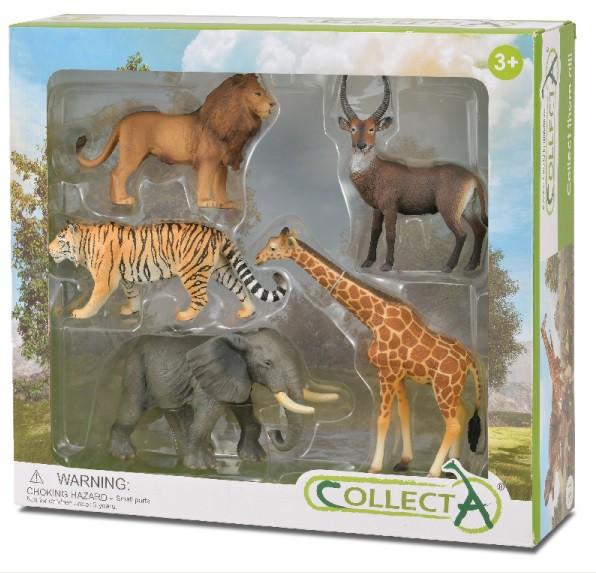 Set 5 buc Animale Salbatice - Collecta