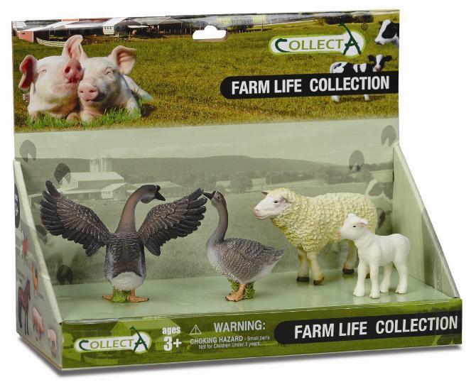 Set 4 figurine Viata la ferma- Collecta