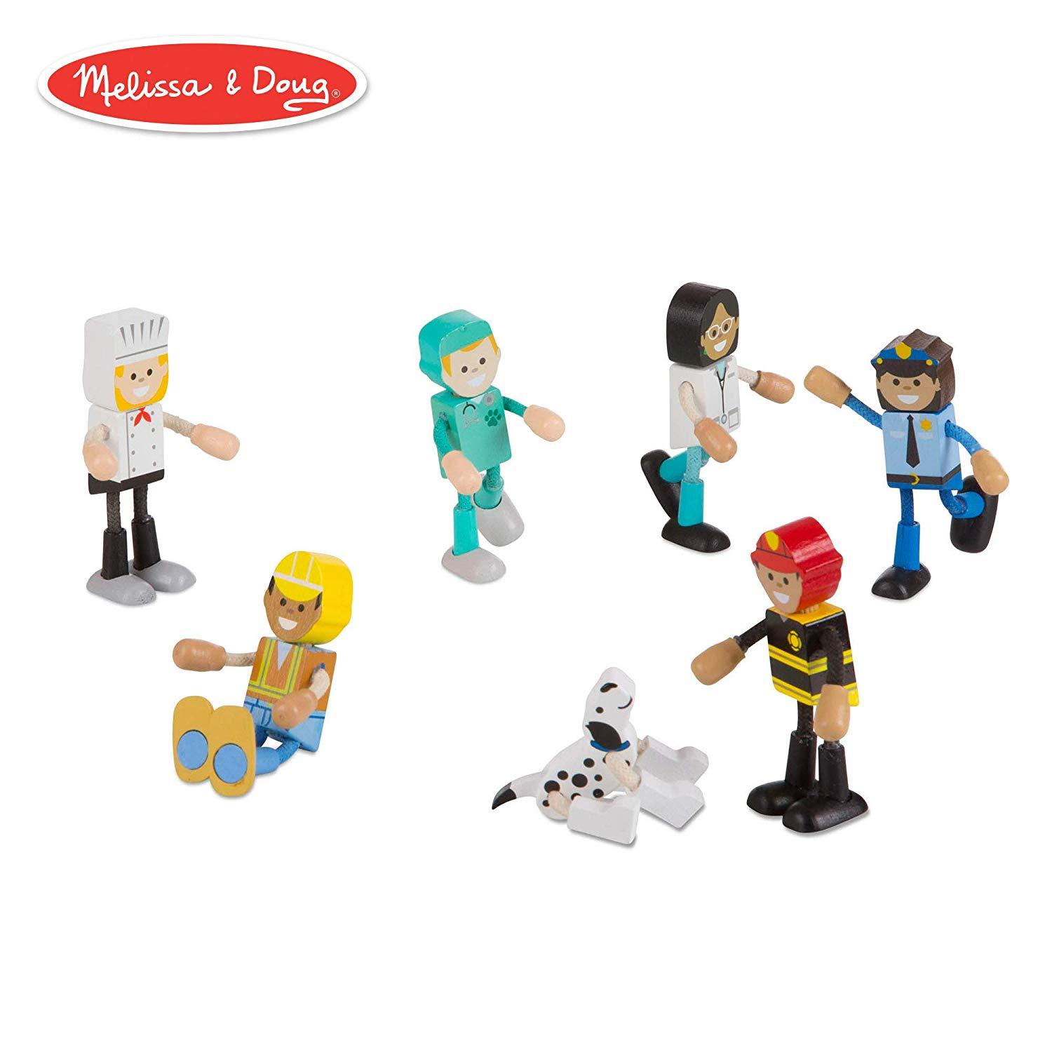 Set figurine flexibile Meserii - Melissa & Doug