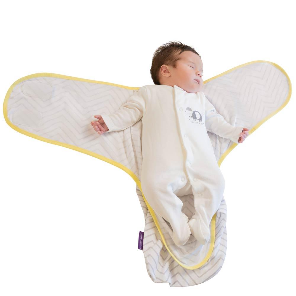 Sistem de infasare pentru bebelusi 0-3 luni grey Clevamama imagine
