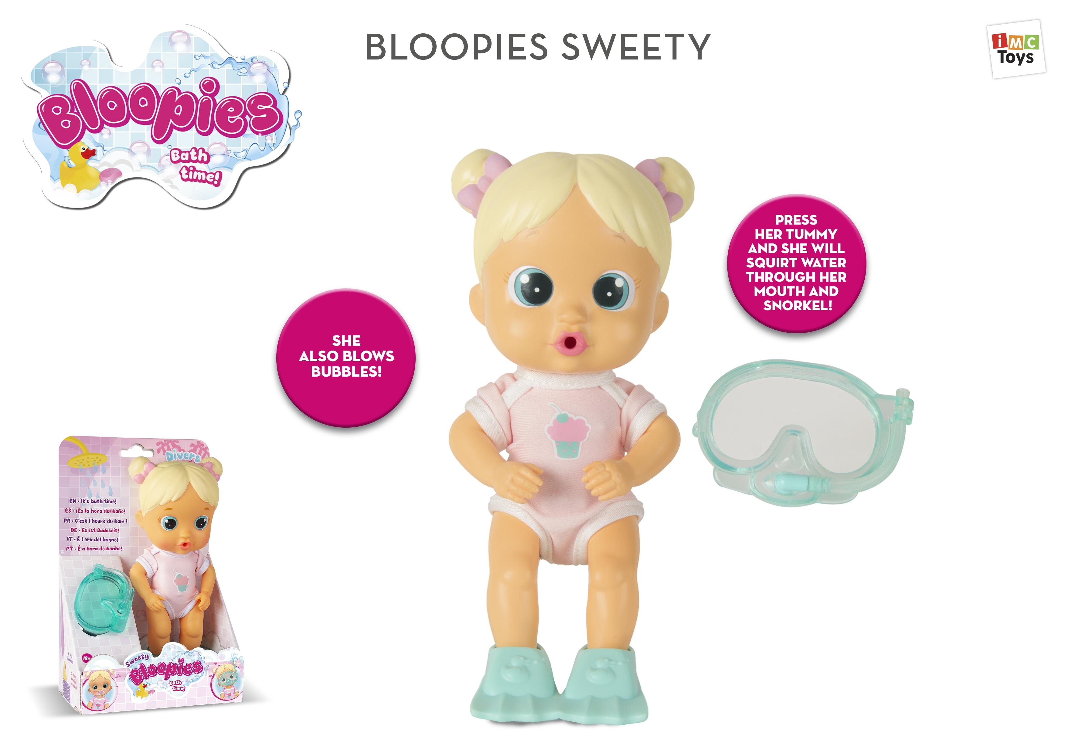 Papusa Bloopies Sweety