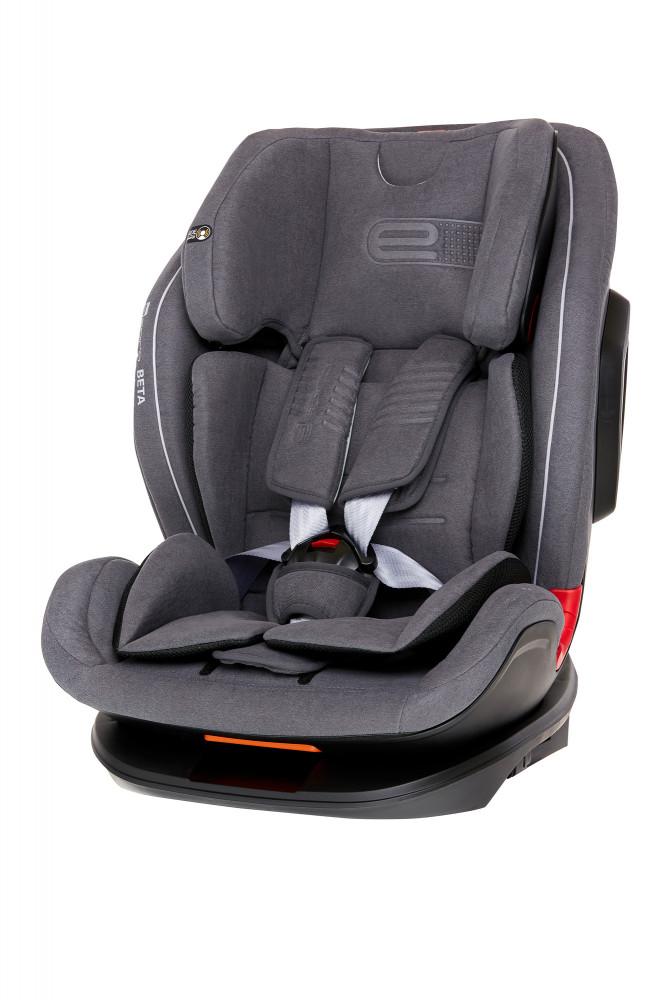 Espiro Beta scaun auto cu isofix 9-36 kg - 07 Gray&Silver 2019 imagine