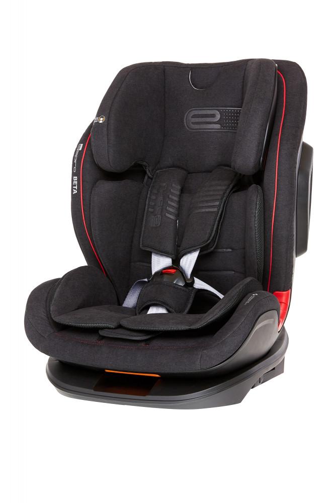 Espiro Beta scaun auto cu isofix 9-36 kg - 10 Onyx 2019 imagine