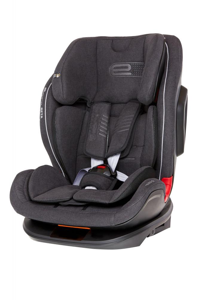 Espiro Beta scaun auto cu isofix 9-36 kg - 17 Graphite 2019 imagine