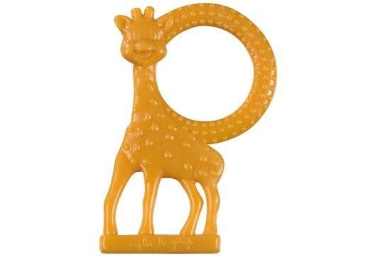 Vulli Inel dentitie vanilie in cutie cadou, Girafa Sophie Orange imagine