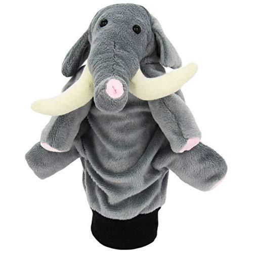 Papusa De Mana Elefantel