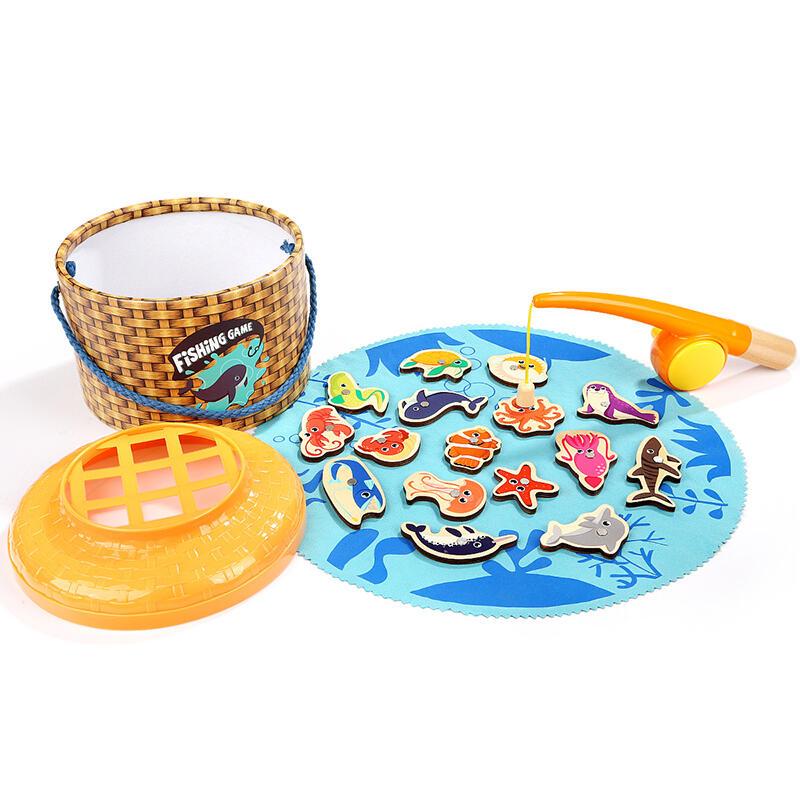 Joc magnetic de pescuit – 20 piese