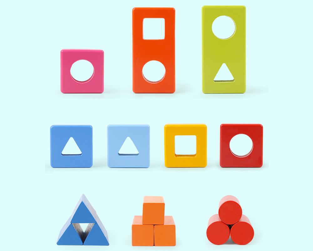 Joc de potrivire - Primele mele forme geometrice
