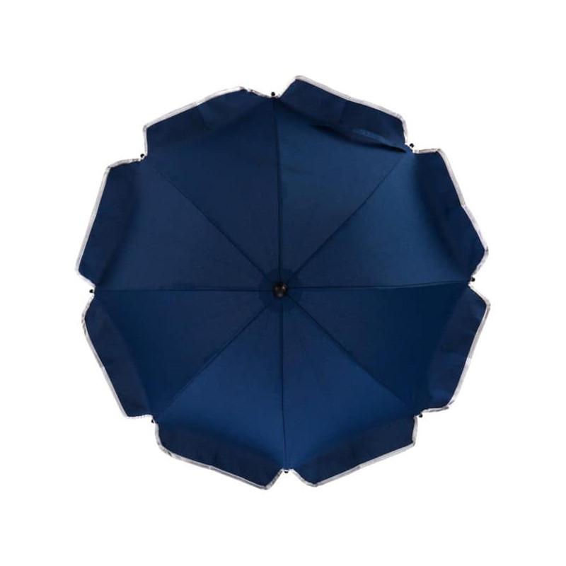 Umbrela pentru carucior UV 50+ Melange marin Fillikid imagine