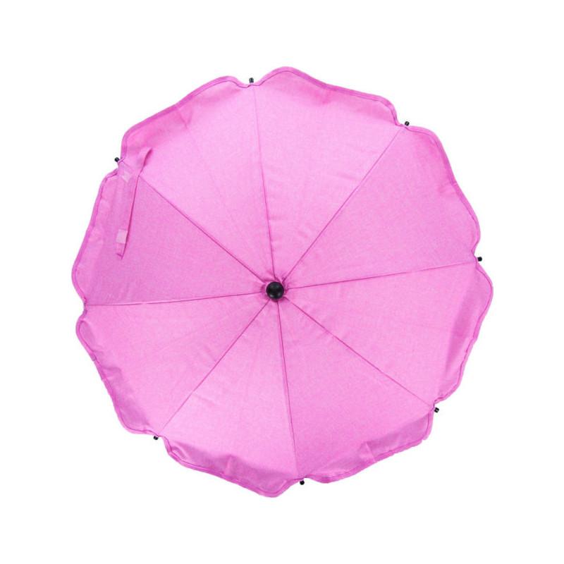 Umbrela pentru carucior UV 50+ Melange rosa Fillikid