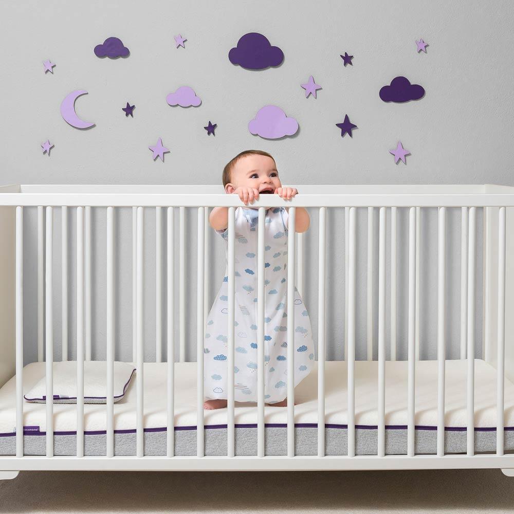 Sistem de infasare pentru bebelusi 3 in 1 blue Clevamama