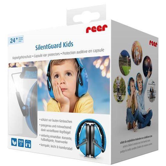 Casti antifonice pentru copii REER SilentGuard Kids Boy 53083