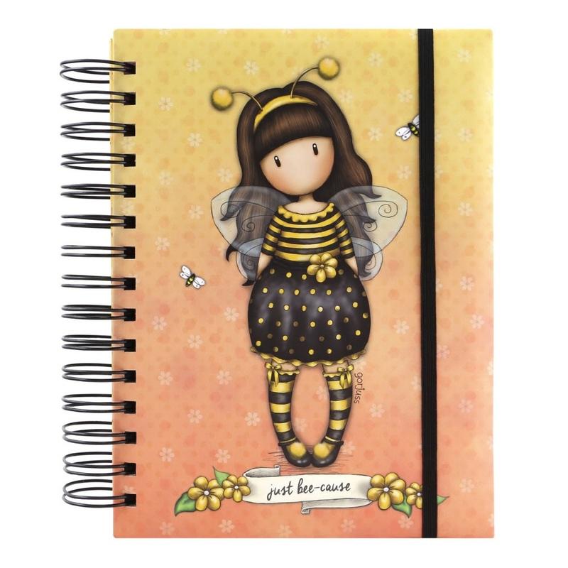 Agenda cu spira Gorjuss Bee Loved imagine