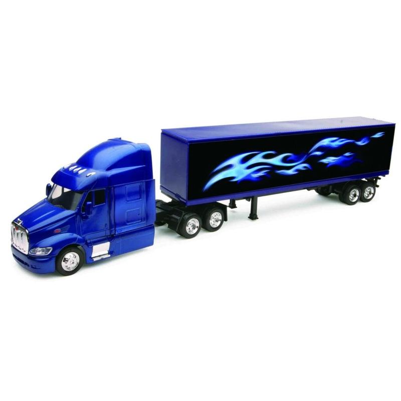 Camion diecast Peterbilt 387 cu container 1:43