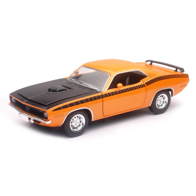 Masinuta diecast Plymouth Cuda 1970