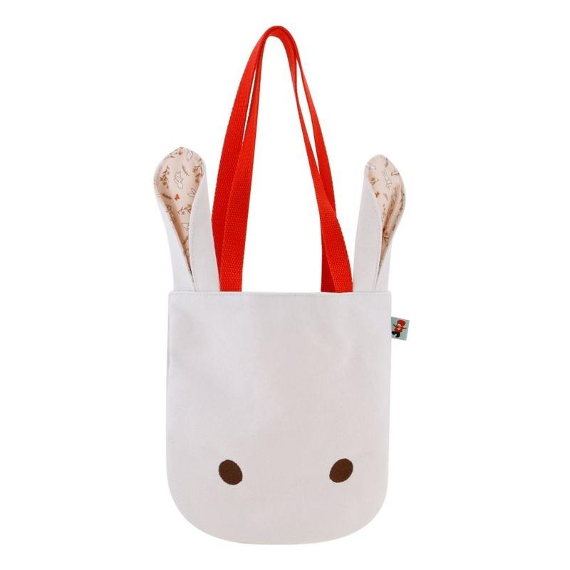 Poppi Love Geanta totem White Bunny imagine