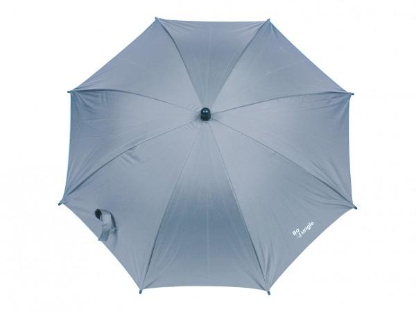 Umbrela pentru carucior copii Bo Jungle gri cu factor protectie UV si prindere universala imagine