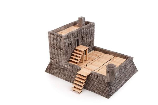Kit constructie caramizi Wise Elk Fortul Matanzas 1000 piese reutilizabile imagine