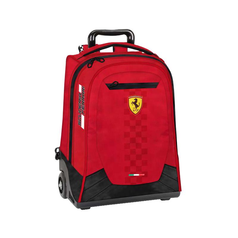 Troler Ferrari rosu scoala 47 cm imagine